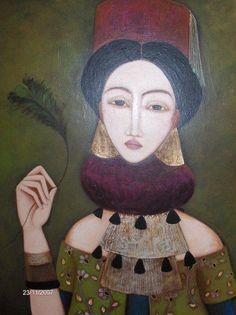 Faiza Maghni from Oran, Algeria now living in Paris.