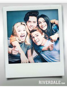 O quarteto que você respeita♥️ #Riverdale