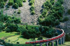 The Views on This Swiss Train Trip Are Downright Breathtaking — and It Only Costs $89!