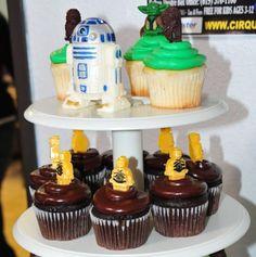 Cupcakes de Star Wars Lego