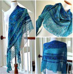 The lovely Sophe shawl