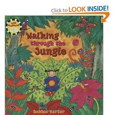 Book, Walking Through the Jungle by Debbie Harter