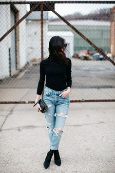 2 Ways To Style High Waisted Skinny Jeans