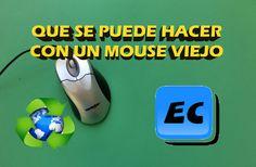 Que se puede hacer con un mouse viejo o roto. Reciclado
