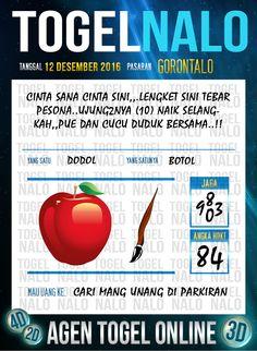 Rumus Lotre 3D Togel Wap Online Live Draw 4D TogelNalo Gorontalo 12 Desember 2016
