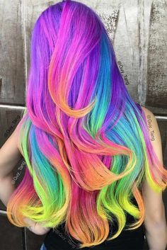 Colorful Ombre Hair Ideas to Inspire You This Summer ★ See more: http://glaminati.com/colorful-ombre-hair-ideas-summer-inspire/