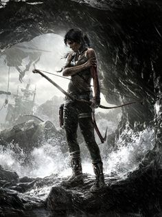 Poster of #LaraCroft from the 2013 #TombRaider reboot
