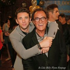Thaao Penghlis and Billy Flynn  #DaysOfOurLives #dool #Days