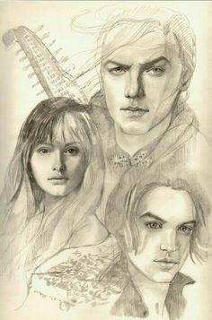 Kvothe, Denna and Bast