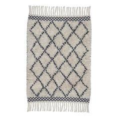 Liv Interior Teppich aus Baumwolle Marokko  Bunt