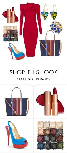 """""""Work Flow - When I want to be serious"""" by janelpphillip on Polyvore featuring Tory Burch, Christian Louboutin and Monet"""