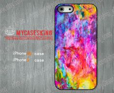 COLOR crash iPhone 5s case COLOR ART iPhone 5s case iphone 5s Hard/Rubber case-Choose Your Favourite Color by MyCasesKing, $6.99