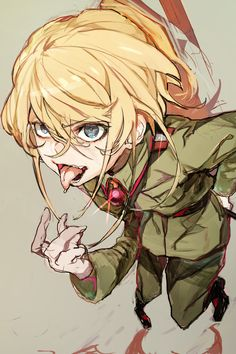 Y tf Tanya so cute! Manga Art, Manga Anime, Anime Art, Anime Girls, Tanya Degurechaff, Tanya Meme, Tanya The Evil, Character Art, Character Design