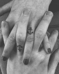 anchor-tattoo-black-and-white-cute-hands-love-Favim
