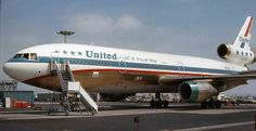 United DC-10 in old livery.  Happy DC-10 Day!  (DeCember 10...get it?)  :)