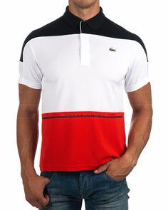 Polos Lacoste Sport -Tricolor |Envio Gratis Sports Polo Shirts, Mens Polo T Shirts, Polo Tees, Lacoste Polo Shirts, Lacoste Sport, Polo Shirt Design, Camisa Polo, Printed Shirts, Shirt Designs