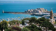 St. Peter Port, Guernsey Island