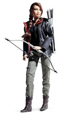 'Hunger Games' Katniss Barbie is well-armed