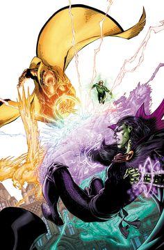 Dr Fate vs Wotan by Brett Booth Dc Comics Heroes, Dc Comics Characters, New 52, Comic Book Artists, Comic Artist, Dc Doctor, Brett Booth, Dr Fate, Valiant Comics