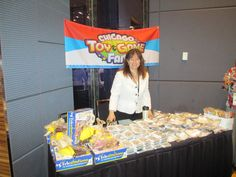 Chicago Toy & Game Sponsor Table #BBSummit12
