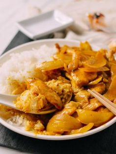 Korean Crispy Pork Belly Kimchi Bowls - The Woks of Life Wok Of Life, Stuffed Mushrooms, Stuffed Peppers, Rice Noodles, Dim Sum, Pork Belly, How To Cook Chicken, The Fresh, Stir Fry