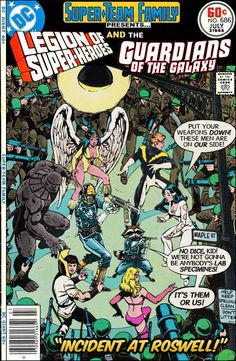 Super-Team Family: The Lost Issues!: Legion of Super-Heroes and Guardians of the Galaxy