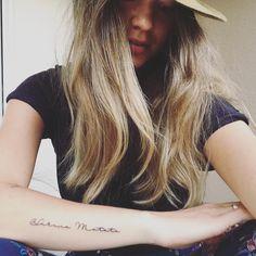 Kristen Graham @los.wild Hakuna Matata Tattoo