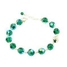"""About May's Birthstone: The gift of Emeralds symbolizes love and fidelity and is believed to bring peaceful dreams. The Incas and Aztecs regarded Emeralds as a """"holy stone"""". Emeralds were Cleopatra's favorite stone. She was known to give visiting dignitaries large Emeralds carved with her likeness.  Emerald is the suggested gift for a 20th and 55th wedding anniversary."""