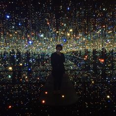 """""""Infinity Room"""" at The Broad Museum, Los Angeles, California, 2015"""