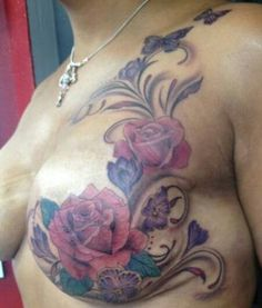 1000 images about mastectomy life on pinterest for Breast reconstruction tattoos