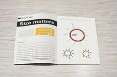 Univers typeface book by Michał Kulesza, via Behance
