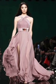 Mis Queridas Fashionistas: Elie Saab Ready To Wear Fall/Winter 2014 - Paris Fashion Week