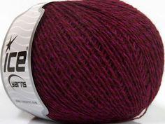 Fiber Content 35% Merino Wool 25% Alpaca 20% Viscose 20% Acrylic Brand ICE Fuchsia Burgundy fnt2-40319