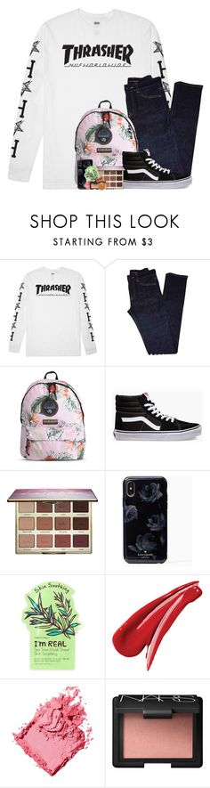 """a blog!"" by arielforlife ❤ liked on Polyvore featuring HUF, Yves Saint Laurent, Napapijri, Vans, tarte, TONYMOLY, Bobbi Brown Cosmetics, NARS Cosmetics and Too Faced Cosmetics"
