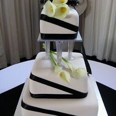 Wedding Cakes Simple Square Calla Lilies 53 Ideas For 2019 Wedding Cake Prices, Square Wedding Cakes, Fall Wedding Cakes, Wedding Ideas, Wedding Stuff, Extravagant Wedding Cakes, Amazing Wedding Cakes, Elegant Wedding Cakes, Trendy Wedding