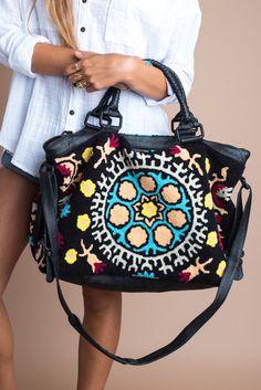 Sevilla Weekender Bag from Prism Boutique
