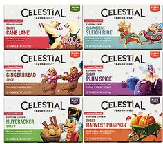 Holiday Tea Variety 12-Pack | Celestial Seasonings Tea Shop