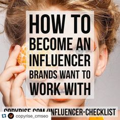 #Repost @copyrise_cmseo with @repostapp.  Blog Post: How to Become an Influencer  #contentmarketing #marketing #SEO #SEM #SMM #IM #blogging #design #travel #luxurytravel #PPC #influencermarketing #socialmedia #baller #bicycle #klout #ecommerce #shopping #writing #blogger #webdesign #media #speaking #publicspeaking #health #fitness #fashion #brand by ramikantari