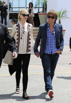 Keith Urban - Nicole Kidman and Keith Urban Enjoy a Lunch Date in Cannes