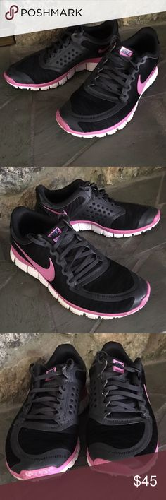 Nike Free 5.0 Shoes Black and Purple Nike Free 5.0.  Doesn't Have Original Insoles I used Dr Scholls Inserts. Great Condition! Nike Shoes Sneakers