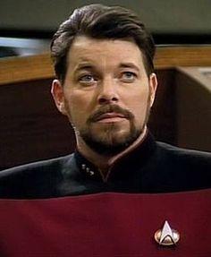 Commander William Thomas Riker of the Federation starship Enterprise, NCC-1701-D - Star Trek: The Next Generation