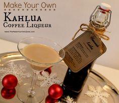How to make homemade copycat Kahlua