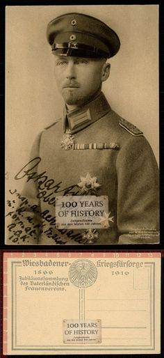 Orig. AK 1. WK Portrait Soldat Offizier