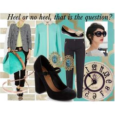 Heels or no Heels?, created by theadminpost on Polyvore