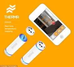 The Node also facilitates temperature mapping via the addition of its therma module