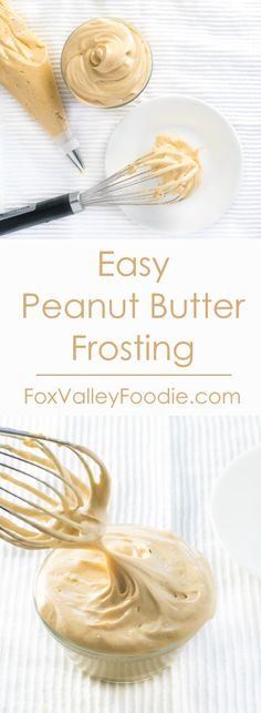 Easy Peanut Butter Frosting Recipe                                                                                                                                                     More