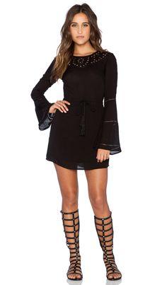 AUGUSTE Bella Dress in Black | REVOLVE