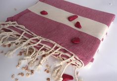 Natural Soft Cotton Bath and Beach Towel Turkish by TheAnatolian, $28.90 Valentine Day Gifts, Valentines, Turkish Bath Towels, Spa Towels, Yoga Towel, Beach Towel, Hand Weaving, Elegant, Natural