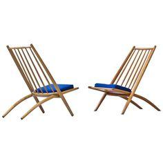 Pair of 1950s 'Congo' Easy Chairs by Ilmari Tapiovaara