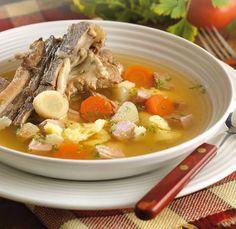 Egries húsleves – Receptletöltés Thai Red Curry, Nutella, Ramen, Rooster, Pork, Food And Drink, Ethnic Recipes, Kale Stir Fry, Pork Chops